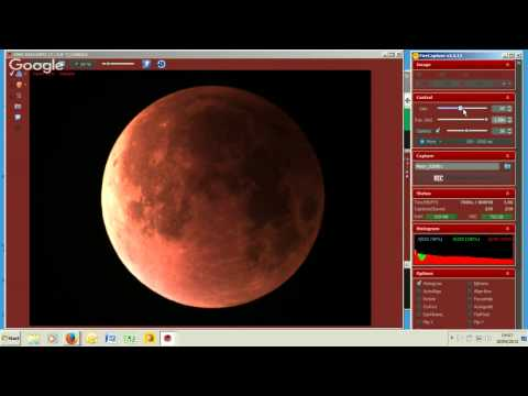 Total Lunar Eclipse LIVE from Northern Hemisphere