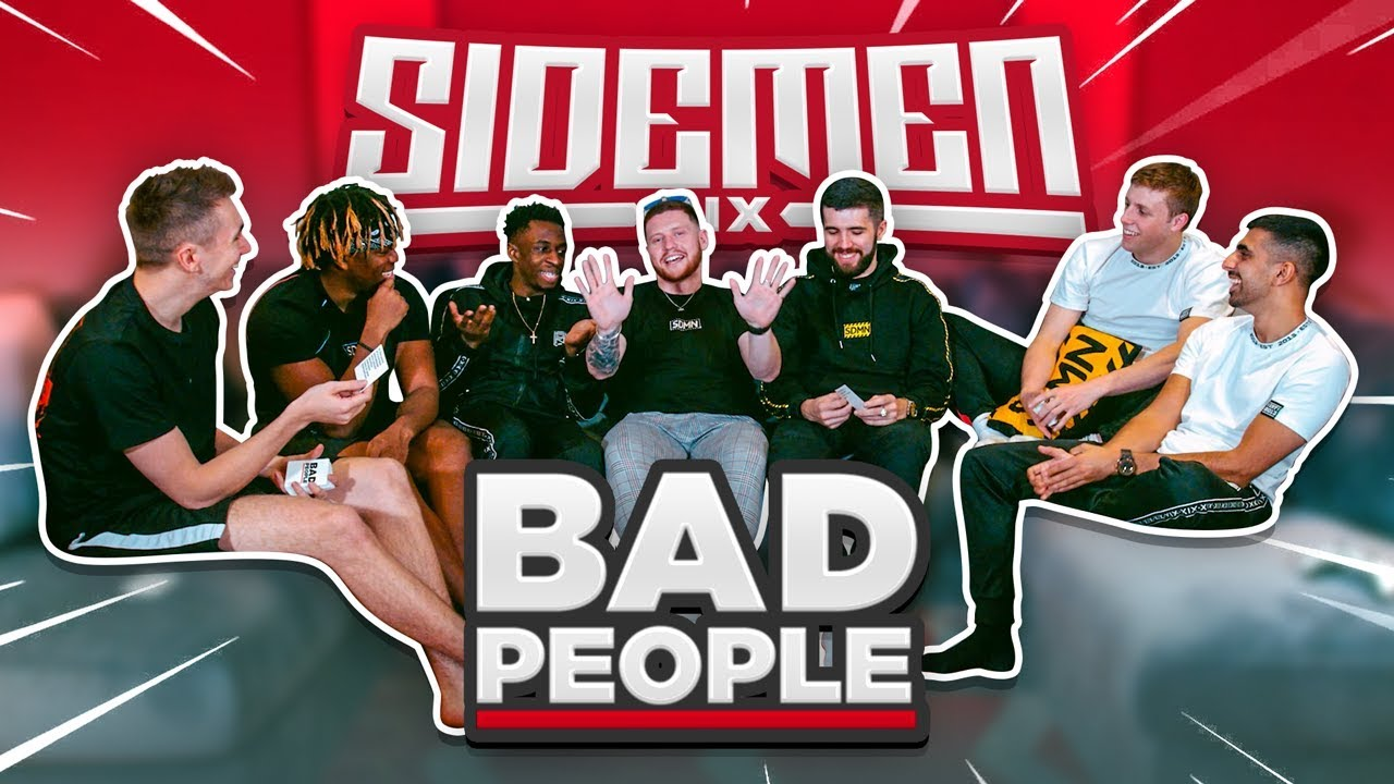 THE MOST OUTRAGEOUS GAME (SIDEMEN PLAY BAD PEOPLE)