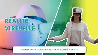 Simulation de parcours clients en réalité virtuelle