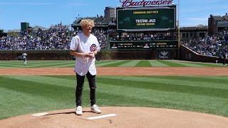Did I Really Do This For The First Pitch?!