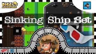 [~Movie Madness~] #4 Sinking Ship Set - Diggy