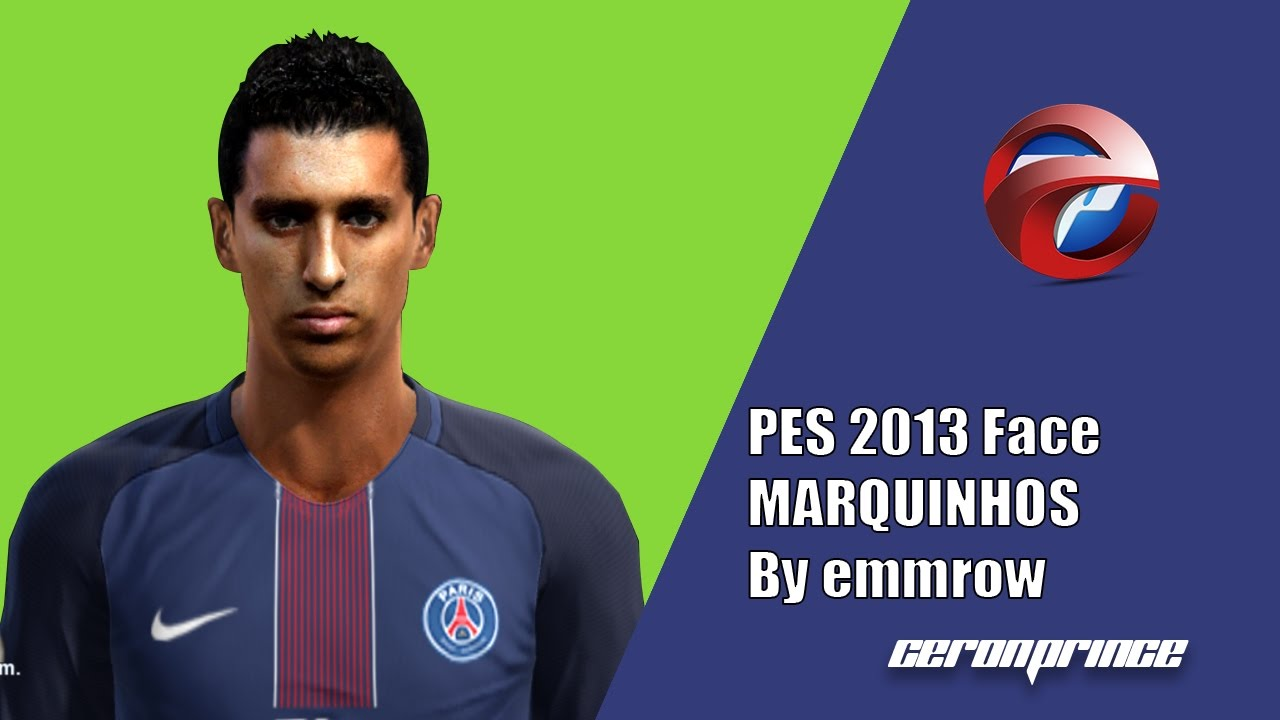 PES 2013] NEW Face Y Hair MARQUINHOS 2017 18