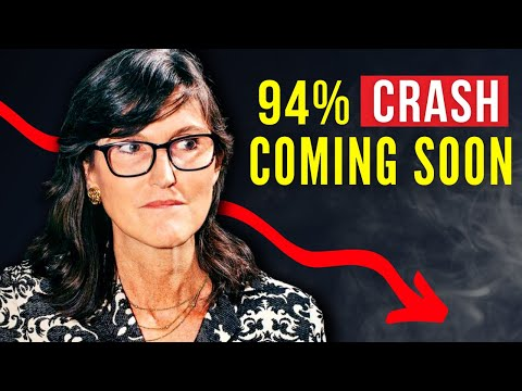Cathie Wood WARNING - A Deflationary Crash Is Coming (Not Inflation) Bitcoin & Ethereum Prediction