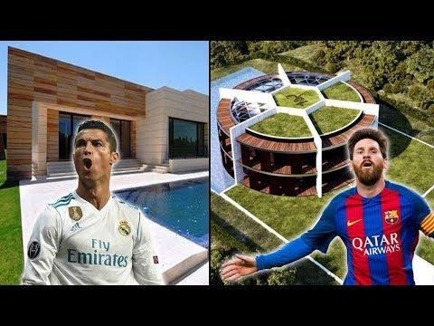 أفخم 10 قصور يمتلكها أشهر لاعبي كرة القدم   منازل خيالية وأسعار لا تصدق..!!