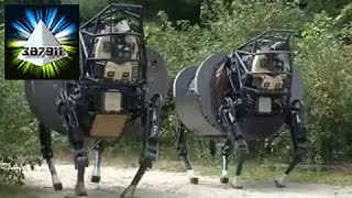 DARPA 🔧 LS3 Running Legged Squad Support System Artificial Robot Demonstrates 👽 Darpa Legged Robot