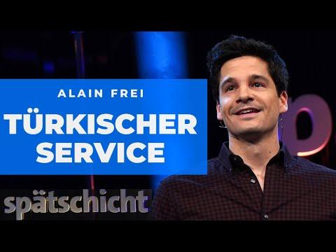 Alain Frei : Türkischer Kundenservice ist besser als deutscher   SWR Spätschicht