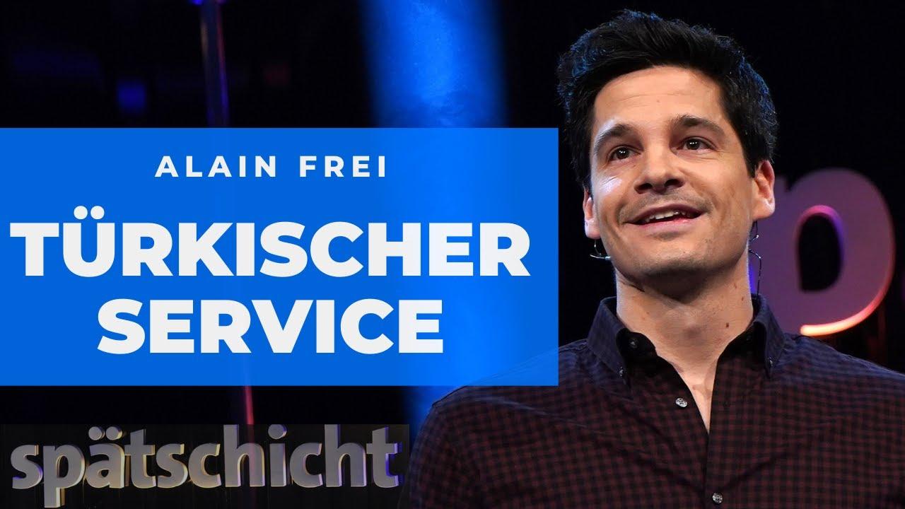 Alain Frei : Türkischer Kundenservice ist besser als deutscher | SWR Spätschicht