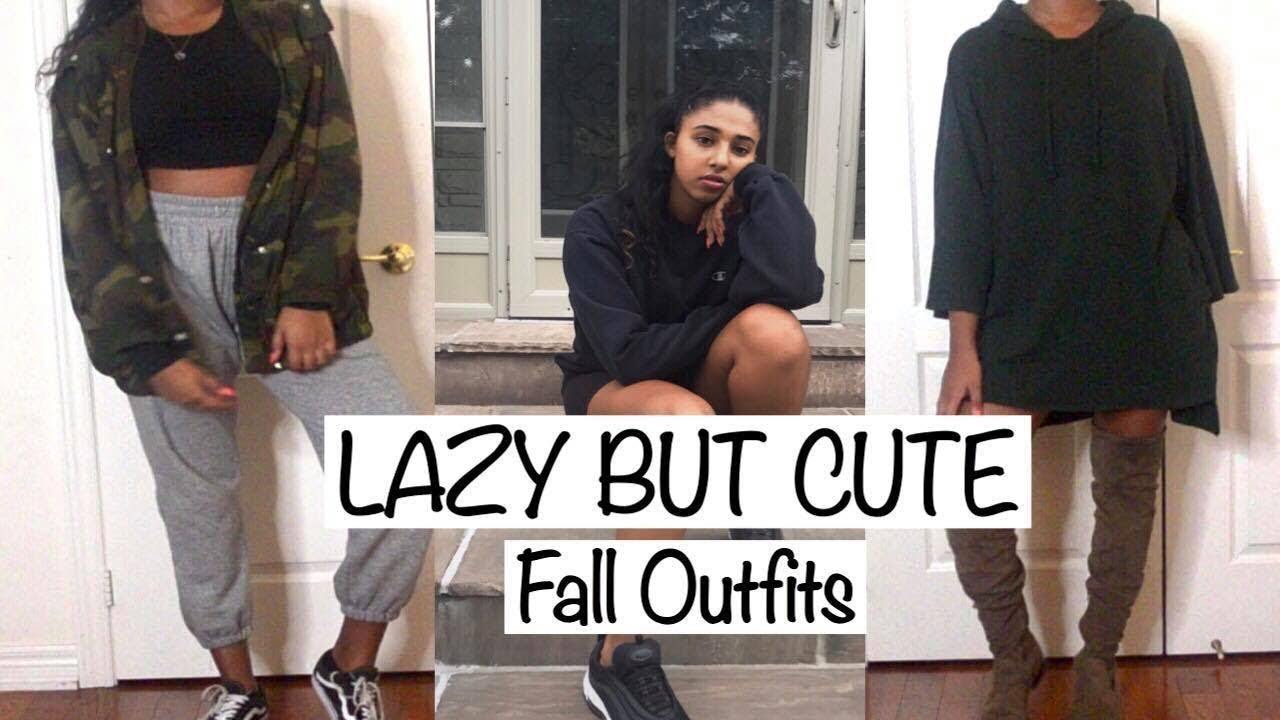 Lazy Fall Outfits  2018 | Autumn Outfit Ideas | My First YouTube Video 2