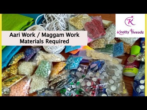materials-required-for-aari-work-or-maggam-embroidery-|-buy-them-at-www.knottythreadz.com