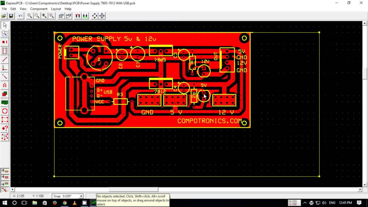 How To Convert Pcb Files Into Negative Youtube