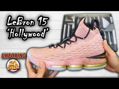 Unboxing LeBron 15 Hollywood | Canal 21onze Tênis de Basquete