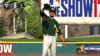 MLB The Show 17 Spring training Game 2018 Athletics vs Cubs