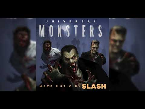 "Halloween Horror Nights 2018 | Universal Monsters | Maze Music By Slash | ""The Danse of the Dead"""