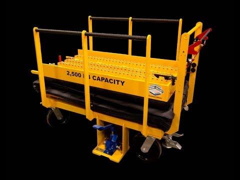 Titan 173946 2,500 lb. Capacity Custom Fixture Cart