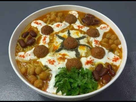   Afghan Noodles Soup    آش کوفته دار آسان