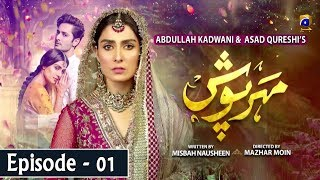 Meherposh - EP 01 || English Subtitles || 3rd April 2020 - HAR PAL GEO