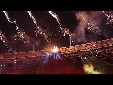 Mengharukan Detik2 Penyalaan Api Asian Games 20180 - Asian Games 2018 Flame Lighting