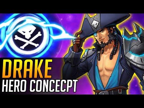 Overwatch   NEW HERO CONCEPT: Drake (Defense Hero)