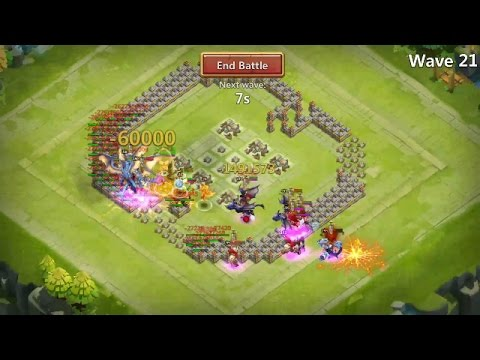 Castle Clash: Ember Army 388M Dmg | F2p Heroes!!