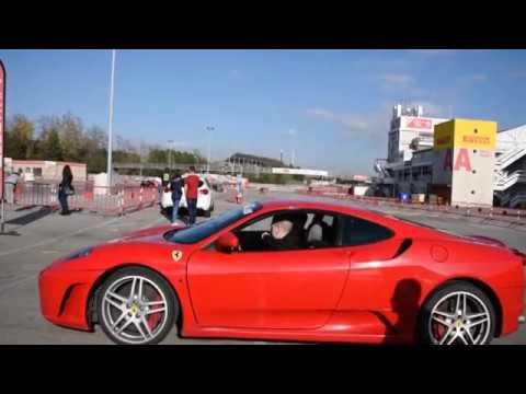 Driving 23Km in a Ferrari F430 - Formula GT Barcelona