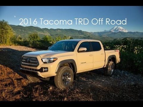 2016 Toyota Tacoma Trd Off Road Short Bed Video Tour