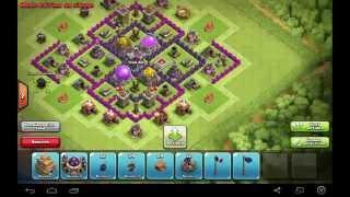 clash of clan speed building village farming hdv 7