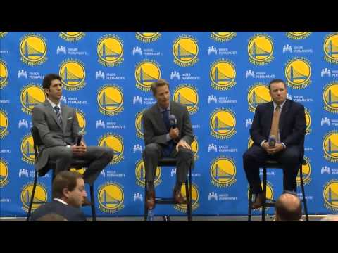 Steve Kerr Introductory Press Conference