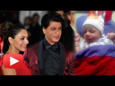 e7da6f12ce Shahrukh Khan s Baby AbRam - Controversy s Child - YouTube