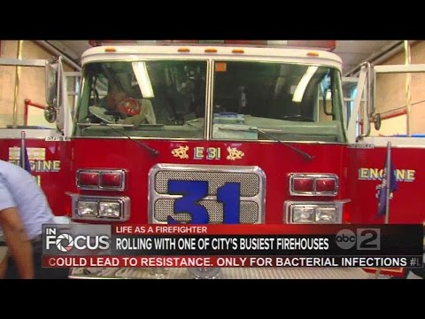 A look at life as a Baltimore City firefighter
