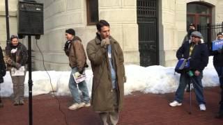 My speech at Philly Bernie Sanders March