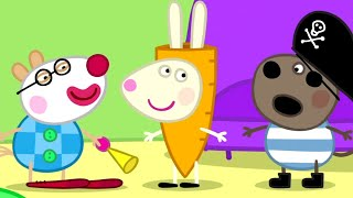 Peppa Pig English Episodes | Peppa Pig - Halloween Dress Up | Peppa Pig Official