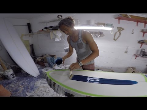 How to make a 7'6'' surfboard
