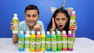Don't Choose the Wrong Paint Slime Challenge!