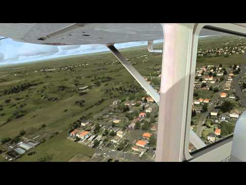 ✈ [HD] C172 Herzelia circuits FSX *AS REAL AS IT GETS*
