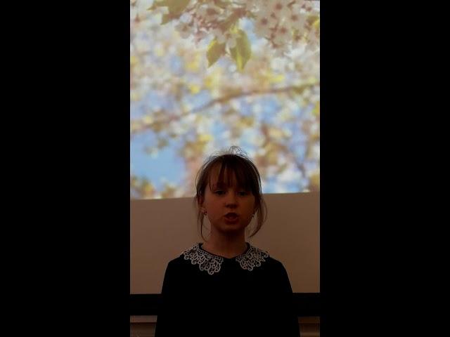 Изображение предпросмотра прочтения – ВарвараФёдорова читает произведение «Весна и ручей» В.В.Ланцетти