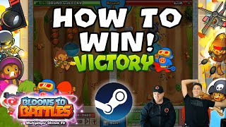 BTD Battles - How to win on a new account