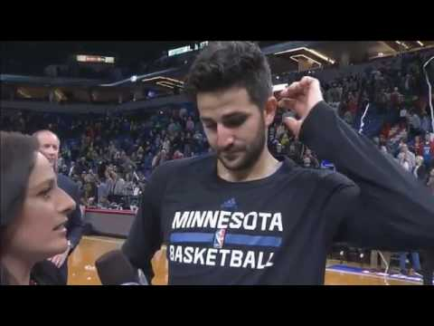 Timberwolves' Rubio on win, franchise-record 19 assists