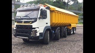 RC4wd Volvo FMX 10x10  5 axle dump truck 1/14