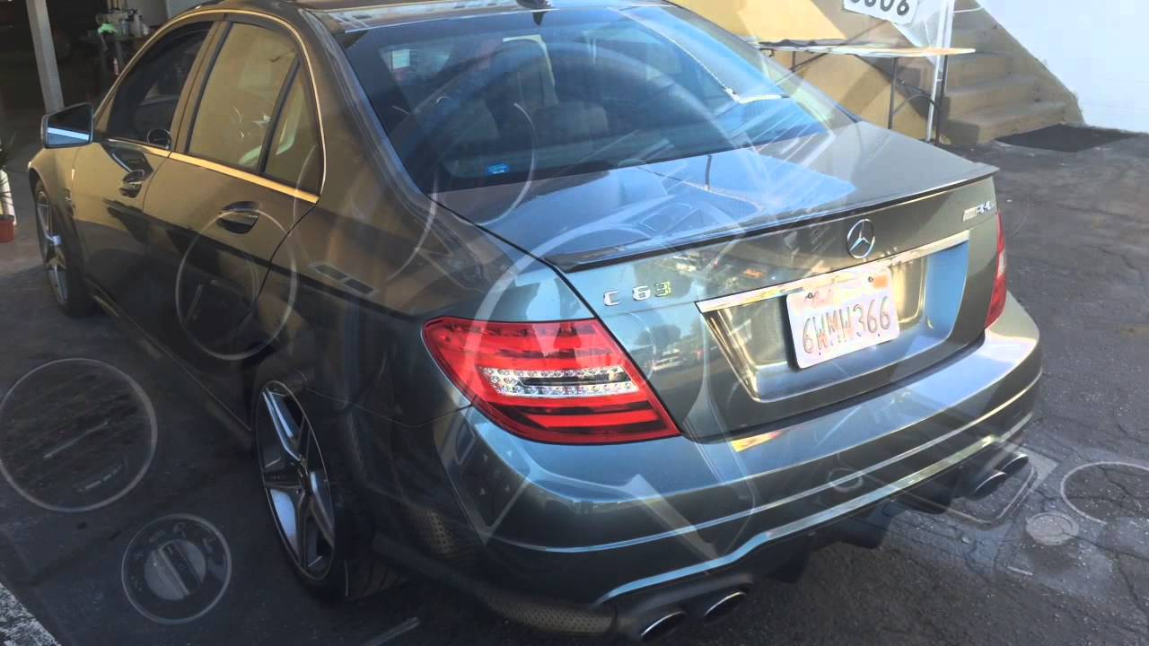 Mercedes Benz Amg C63 Upholstery Repair Driver Seat Youtube