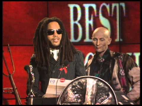 Tamsin Archer wins British Newcomer presented by Lenny Kravitz | BRIT Awards 1993
