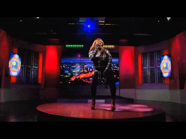 Kym Hamilton performing LIVE ONSTAGE CVMTV