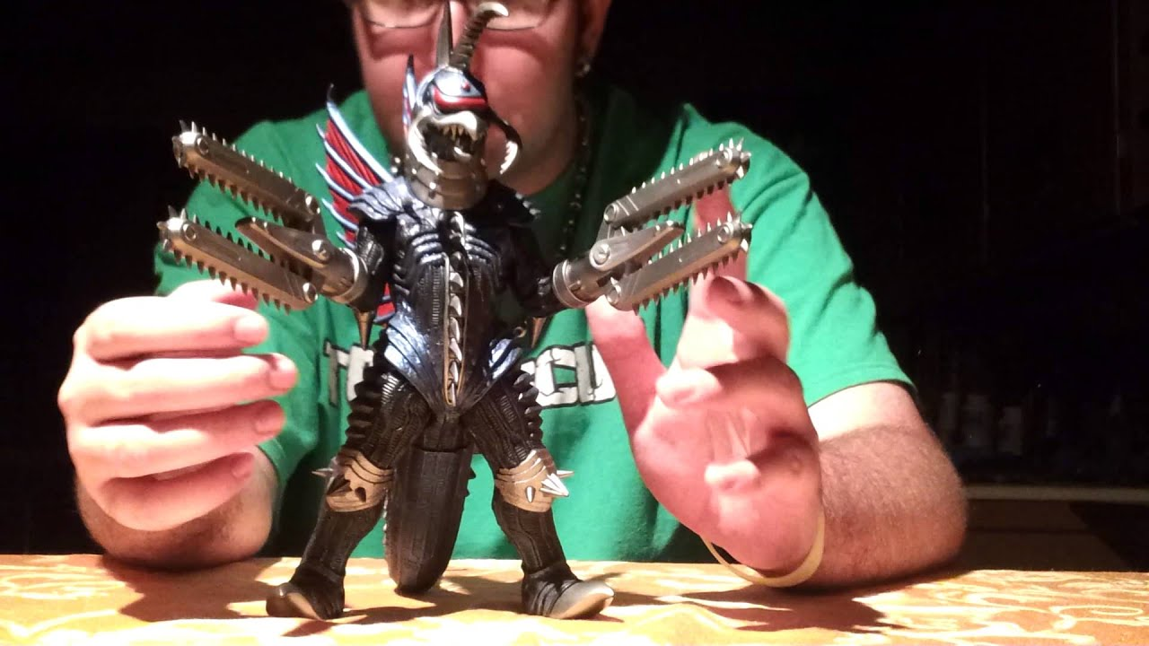 Bandai chainsaw Gigan figure review - YouTube
