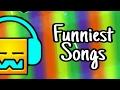 Top 5 Funniest Songs In Geometry Dash