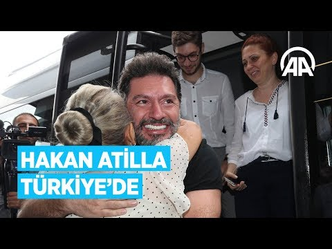 Hakan Atilla Türkiye'de