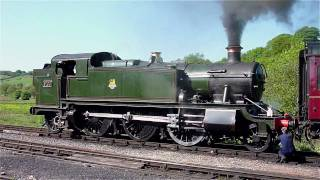 Steam Locomotive Great Western 2-6-2 Prairie tank 5199 Cheddleton