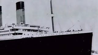 """Posted Aboard RMS """"Titanic"""""""