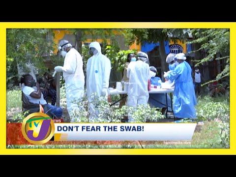 Don't Fear the Swab! | Health Report | TVJ News