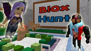 ROBLOX: BLOX HUNT-Alexilla hides GREAT!!