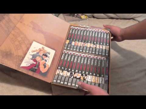 Anime and manga haul #2 (sustain the industry) Bakuman boxset and more