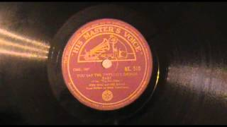 "Swing on Indian HMV - Ken Mac & Band - ""You Say The Sweetest Things, Baby"""